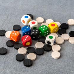WürfelBlitz- juego de rapidez visual con dados para 2-7 jugadores