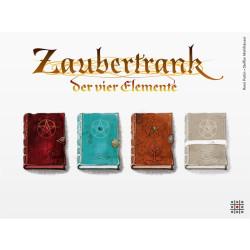 Zaubertrank: la poción mágica de los 4 elementos - juego de estrategia para 2-4 jugadores