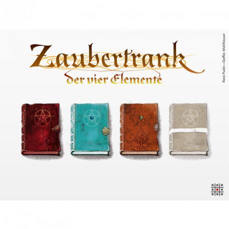 Zaubertrank: La poción mágica de los 4 elementos - juego de estrategiaUn juego para 2-4 jugadores