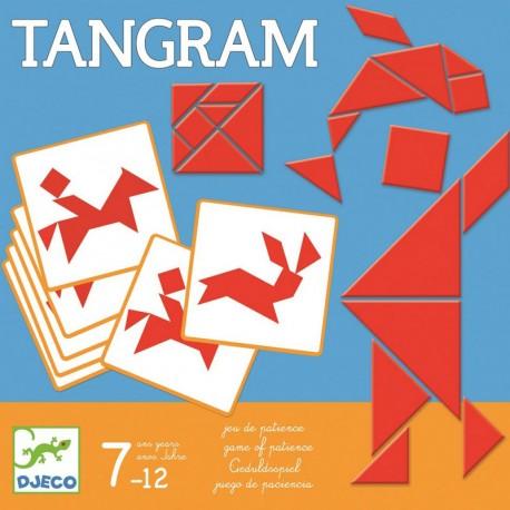 Juego Tangram con plantillas