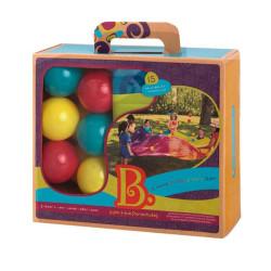 Woo-Hue paracaidas con bolas