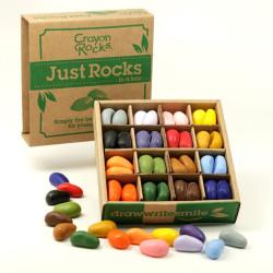 Crayon Rocks - ceras para pintar (64 piedras-16 colores)