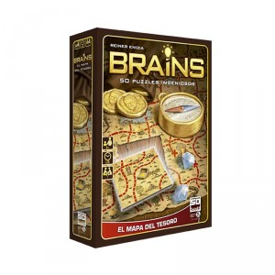 Brains: El mapa del tesoro - juego de lógica para 1 jugador - últimas unidades