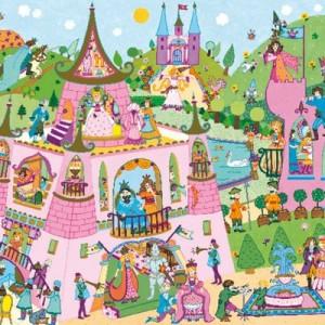 Puzzle observación Princesas - 54 pzas.