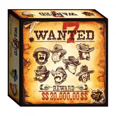 Wanted 7 - Juego familiar de deducción para 2-6 jugadores