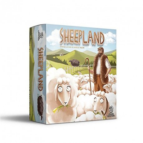 Sheepland - juego de estrategia para 2-4 jugadores