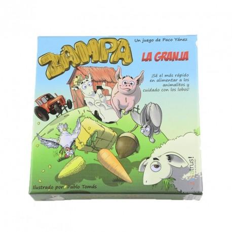 Zampa La Granja - juego de memoria para 2-5 jugadores