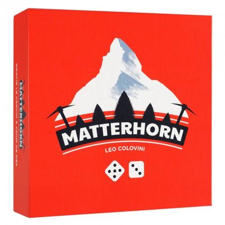 Matterhorn - juego de estrategia con dados para 2-4 jugadores