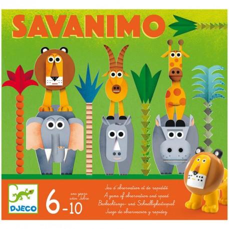 Savanimo - juego de observación para 2-4 jugadores