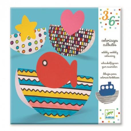 Colorea y Balancea - dibujos para colorear