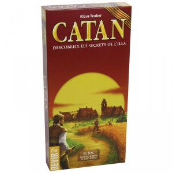 Ampliación Catán (Català) - ampliación para 5-6 jugadores