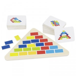 Puzle Triángulo Segmentado - juego de lógica