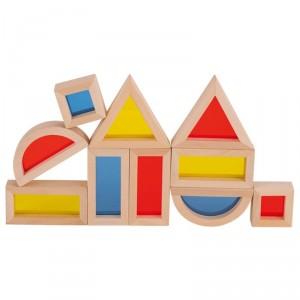 21 Bloques de madera con ventanas