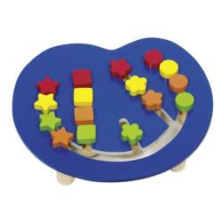 tablero de colores - Juego de clasificación y ordenar colores