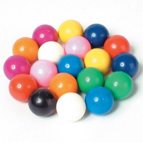 20 canicas imantadas de colores