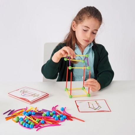 Geo Kit Esqueleto - set de construcción 164 piezas y actividades
