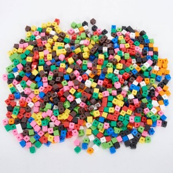 Cubos de cálculos policubos 1x1cm - 1000 unidades