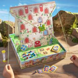 El Castillo de la Rana Escaladora - emocionante juego de destreza y memoria para 2-4 jugadores