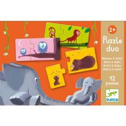 Puzzle duo Mamá y Bebé - 20 pzas.