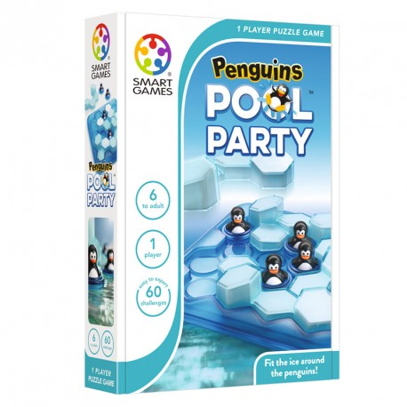 Pinguïnos Pool Party - juego de lógica para 1 jugador