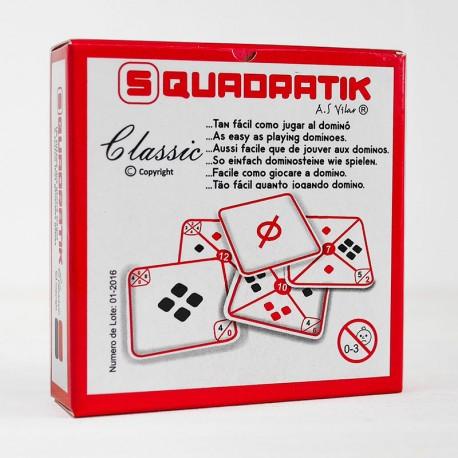 Squadratik - moderno juego de dominó para 1-8 jugadores