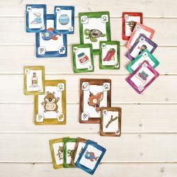 Mascotas - cuidador juego de cartas familiar