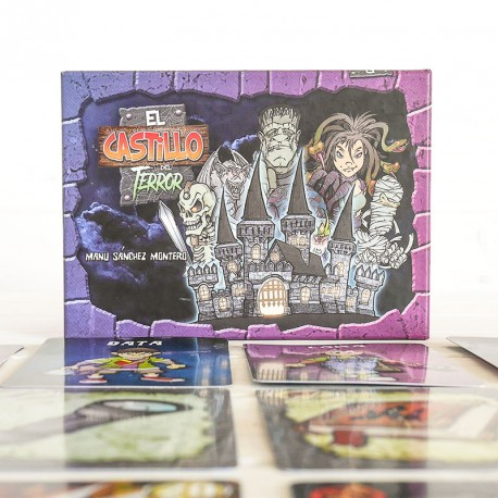 El castillo del Terror - monstruoso juego de cartas familiar