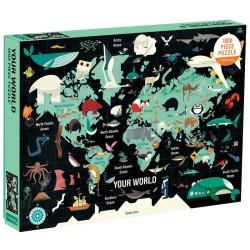 Puzzle El Mundo - 1000 pzas.