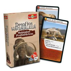 Desafíos de la Naturaleza: Animales Prehistóricos- juego de cartas para 2-6 jugadores