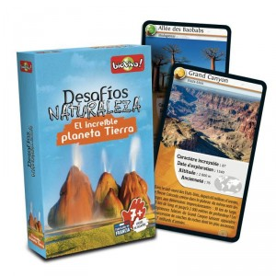 Desafíos de la Naturaleza: El Increíble Planeta Tierra - juego de cartas para 2-6 jugadores