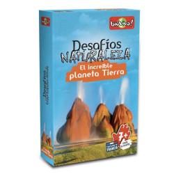 Desafíos de la Naturaleza: El Increible Platena Tierra - juego de cartas para 2-6 jugadores