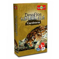Desafíos de la Naturaleza: Carnívoros - juego de cartas para 2-6 jugadores