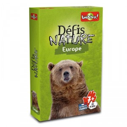 Desafíos de la Naturaleza: Europa - juego de cartas para 2-6 jugadores