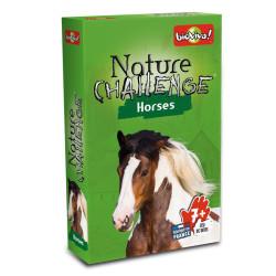 Desafíos de la Naturaleza: Caballos - juego de cartas para 2-6 jugadores