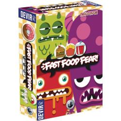 Fast Food Fear! - juego de cartas cooperativo para 3-6 jugadores