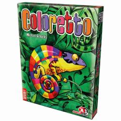 Coloretto - colorido juego de cartas para 2-5 jugadores