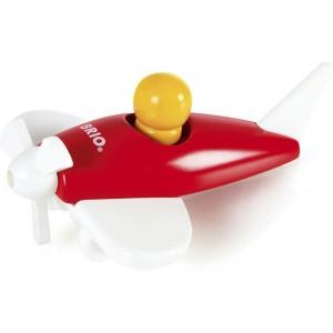 Avión clásico de madera - Rojo