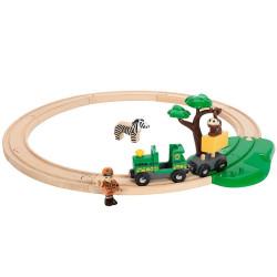 Set inicio circuito de tren con Safari