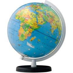 Globo terráqueo Terra Infantil con luz - 26cm mapa en español