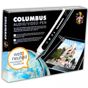 Lápiz Audio-Visual para Columbus Globus - Inglés
