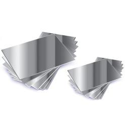 10 Espejos formato DIN A6 de plástico