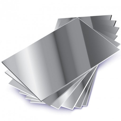 10 Espejos formato DIN A4 de plástico