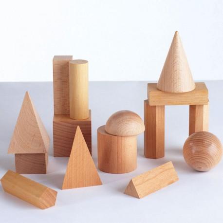 15 Formas Geométricas de madera