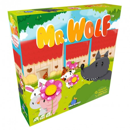Mr. Wolf - Juego cooperativo para 1-4 granjeros