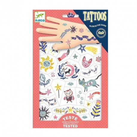 Tatuajes fosforescentes Dulces Sueños