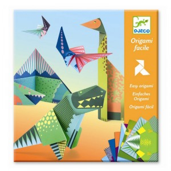 Papiroflexia Origami - Dinosaurios