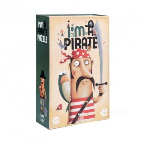 Puzzle Soy Pirata- 100 pzas.