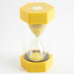 Reloj de arena 3 minutos - amarillo