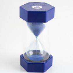 Reloj de arena 5 minutos - azul