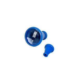 Ojo de Mosca - Caleidoscopio de madera - AZUL